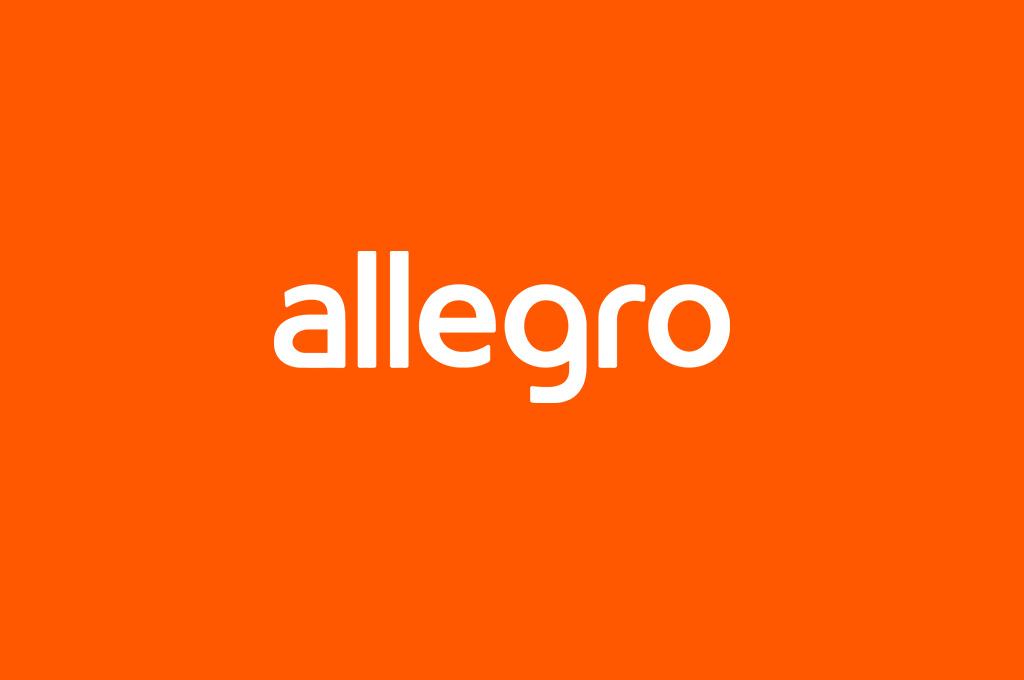 Logo polskiej platformy sprzedażowej Allegro