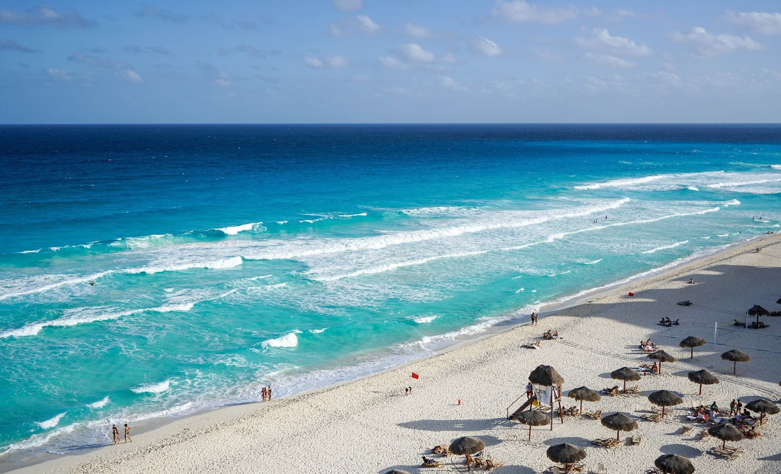 Cancun holiday beach
