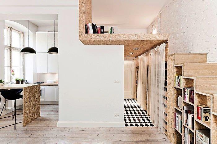 Không gian trang nhã, thanh lịch trong mẫuthiết kế chung cư mini đẹp cho thuê