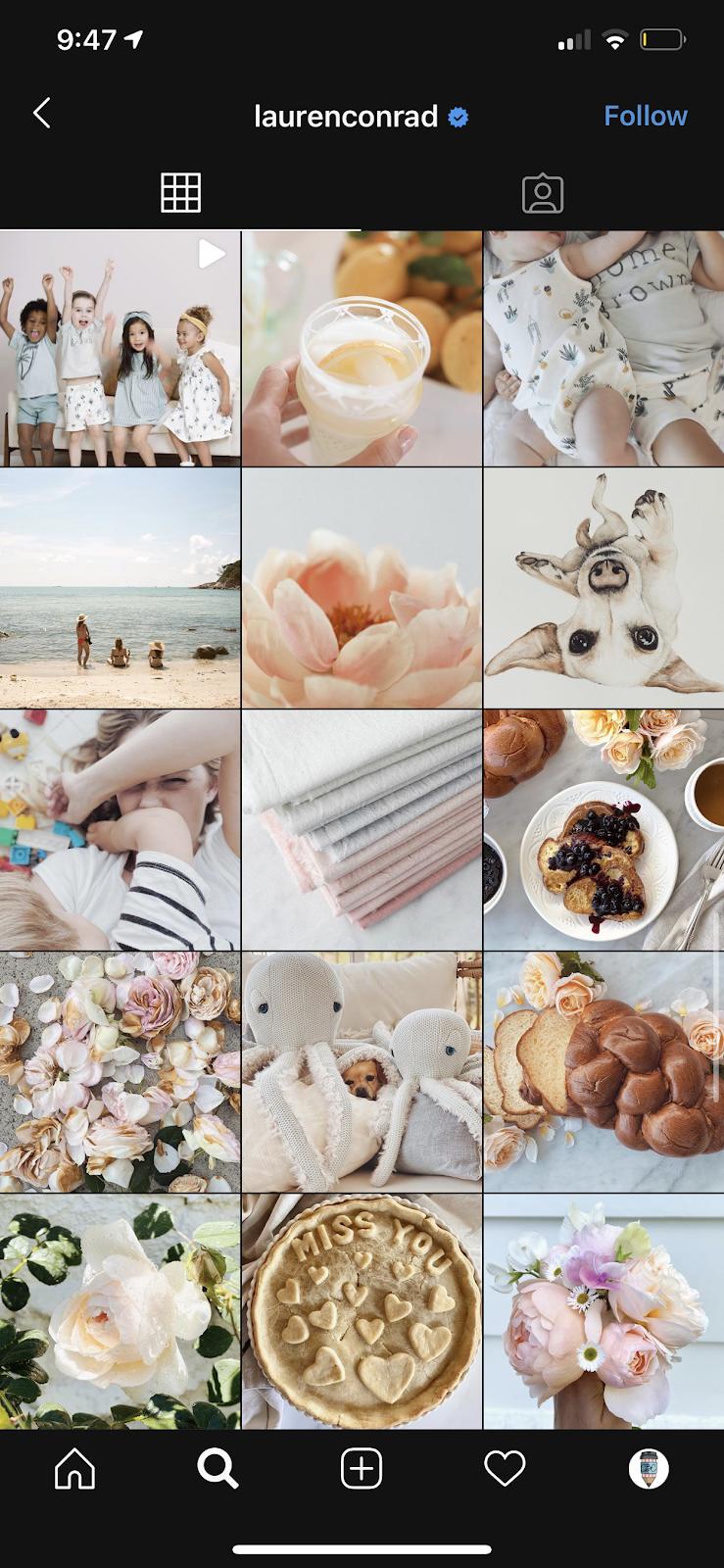 romantic instagram theme