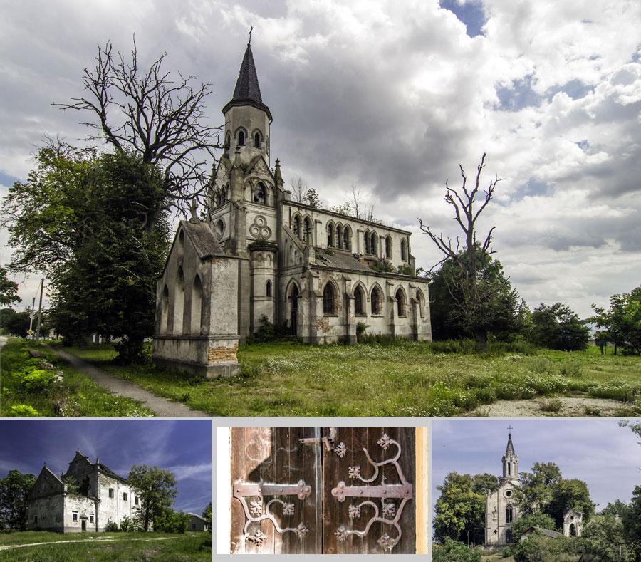 Только в Тернопольской области насчитывается несколько десятков заброшенных костелов