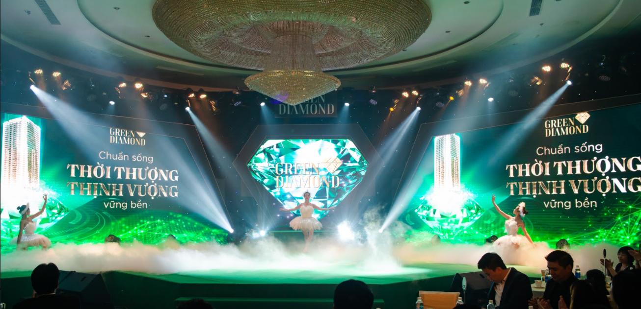 """Chính thức mở bán """"Kiệt tác công nghệ xanh"""" Green Diamond gây sốt thị trường miền Bắc - Ảnh 1"""