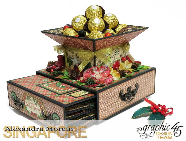 St.Nicholas Candy Stand,Project by Alexandra Morein, Product by Graphic 45, Photo 5