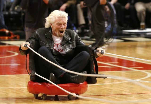 richard branson uses inbound lead generation strategies that are...unique