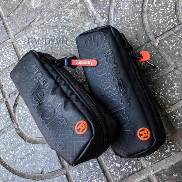 Túi đeo chéo mini Superdry Black