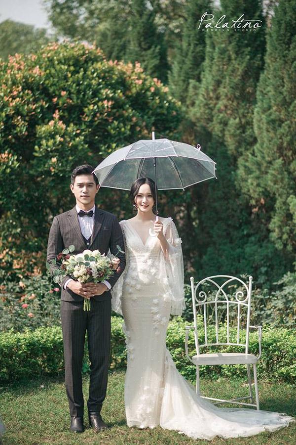 chụp ảnh cưới phong cách Hàn Quốc ở phim trường Rose Valley