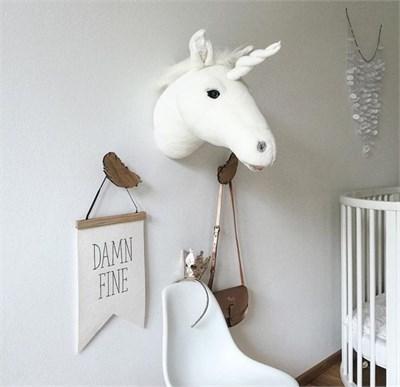 bebek odası unicorn duvar aksesuarı