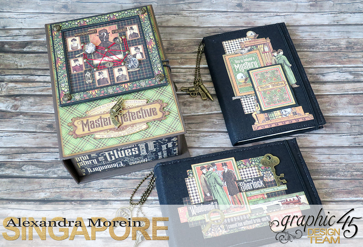 Master Detective Box and Albums, Project by Alexandra Morein, Product by Graphic 45, Photo 11.jpg