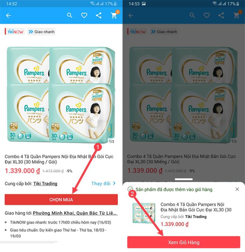 Các bạn hãy săn mã giảm giá Tiki App tại ô ưu đãi của mục Ưu đãi và Hợp tác