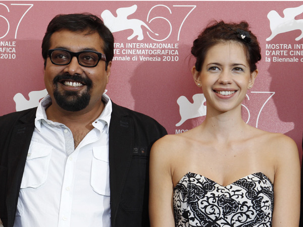 4. Kalki Koechlin and Anurag Kashyap