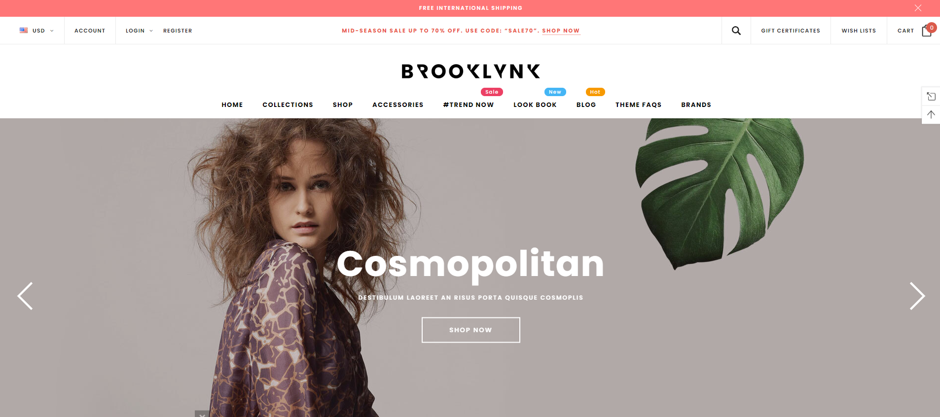 brooklynk Best Themes for BigCommerce