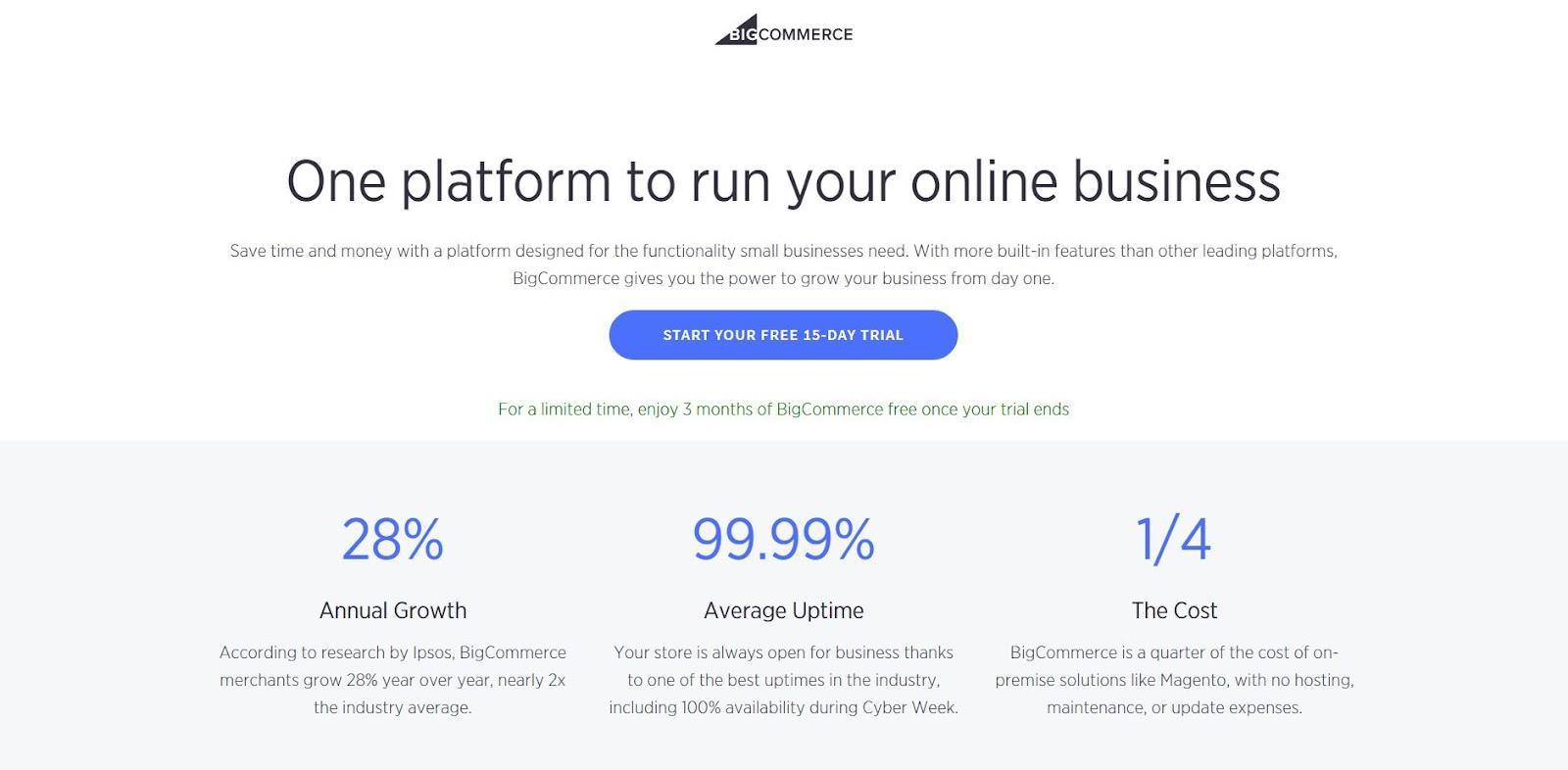 BigCommerce: The Top 10 Website Platforms for Woodworkers and Makers