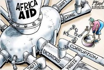 african aid is a failure