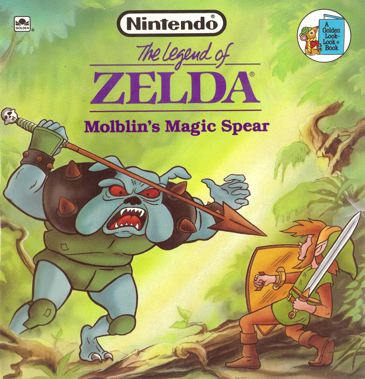 Image result for zelda golden book