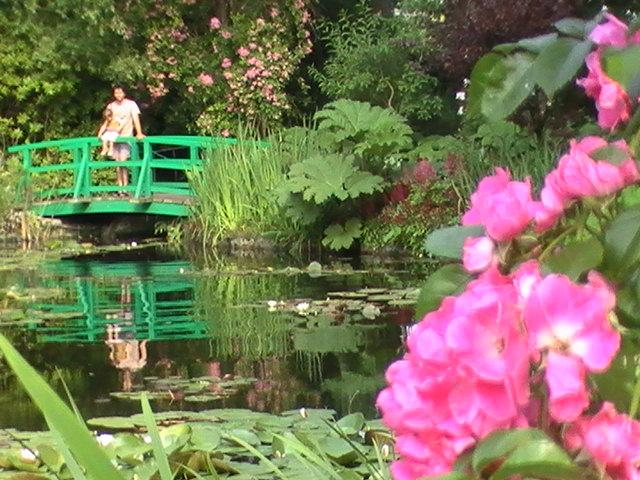 The Japanese Bridge on the Pond of Claude Monet's House