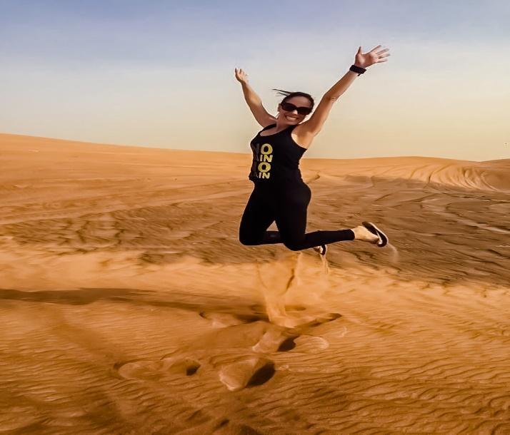 Juliana Lemos enjoying Desert Safari in Dubai, UAE! | Flickr