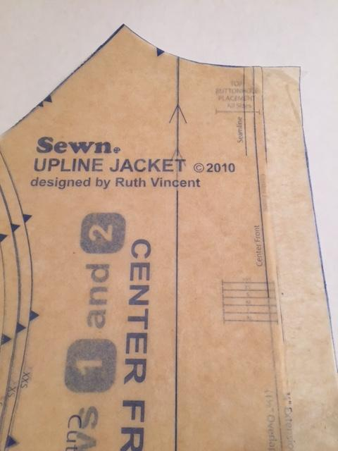 The Sew News Upline Jacket Sew Along Week 2: Pattern Details & Pockets
