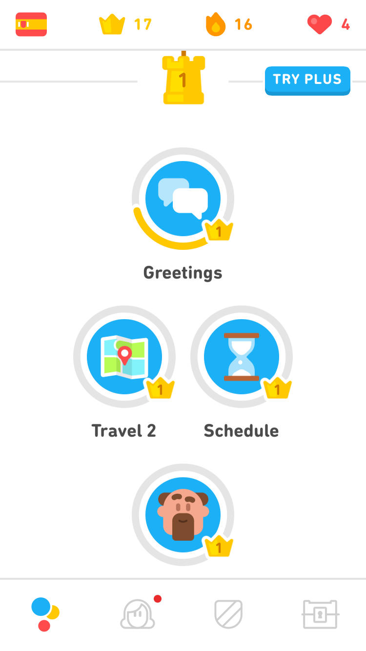Duolingo greetings