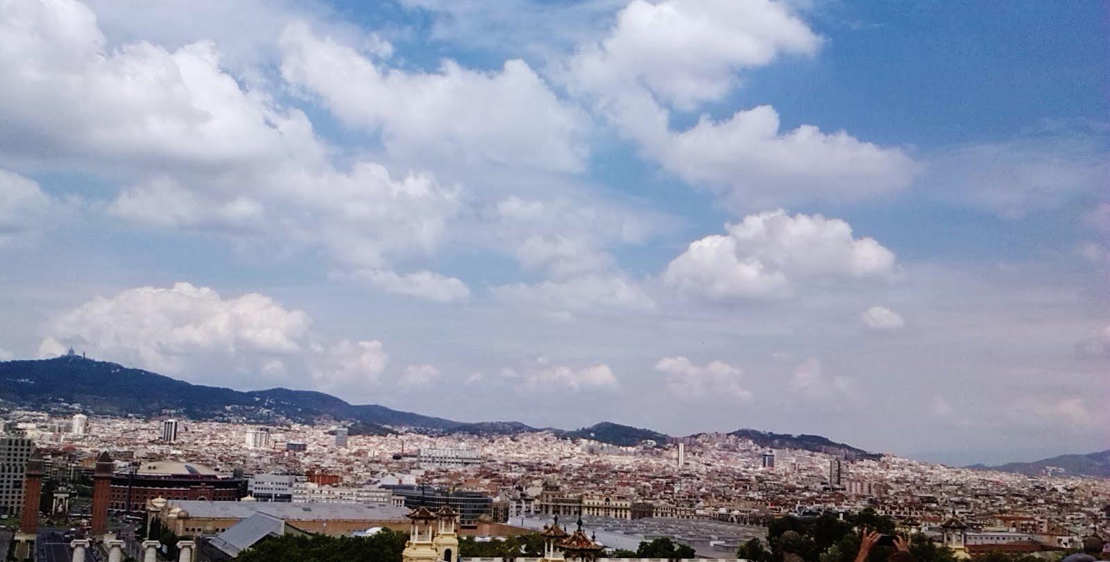 The Museu Nacional d'Art de Catalunya offers you a fantastic view over the city