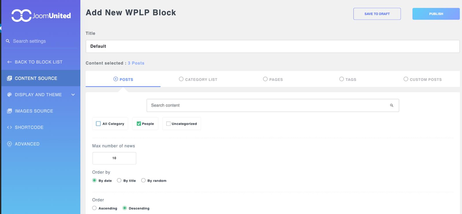 WP Latest Posts from JoomUnited WordPress Developer Bundle