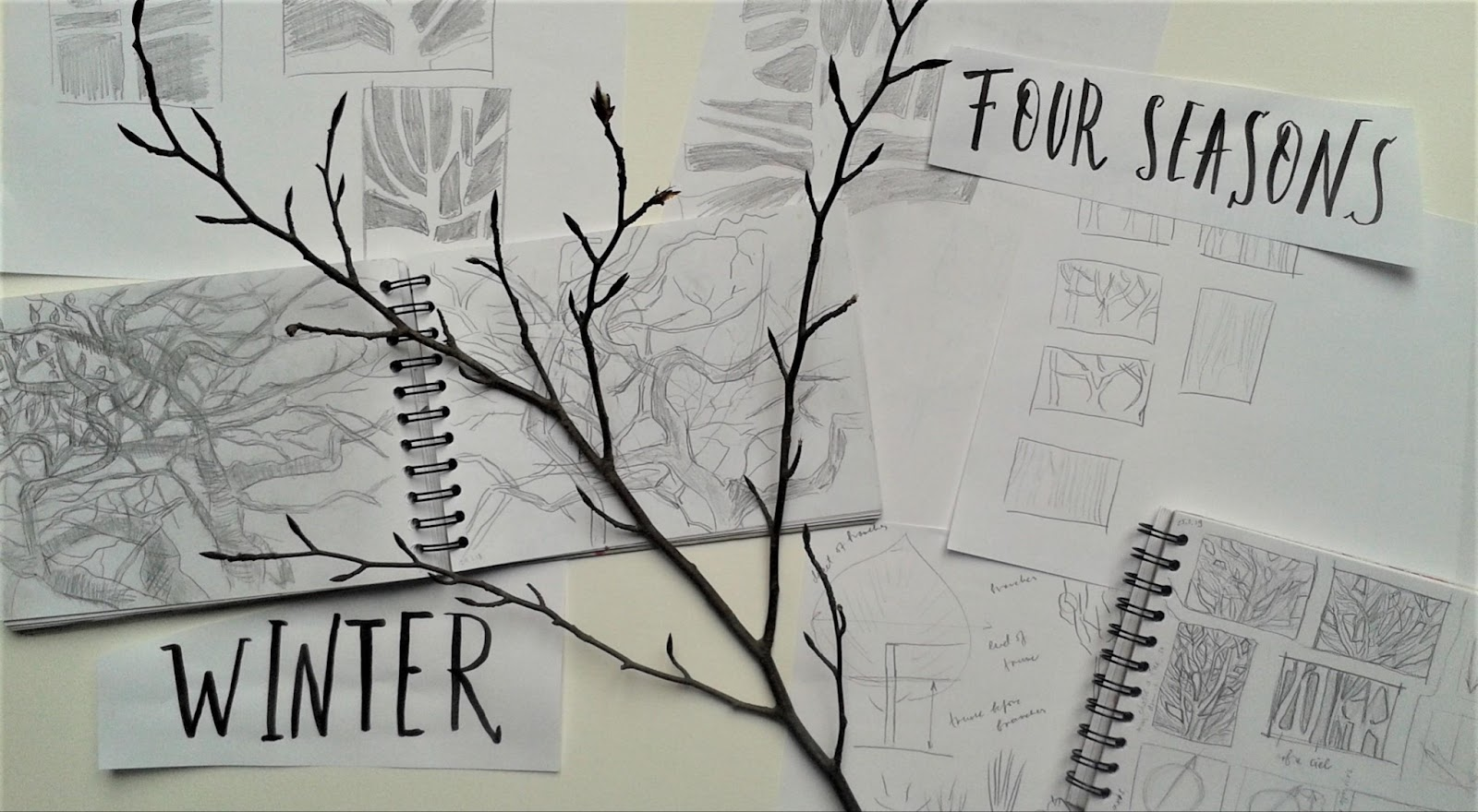 tree sketch drawing ideas for beginners