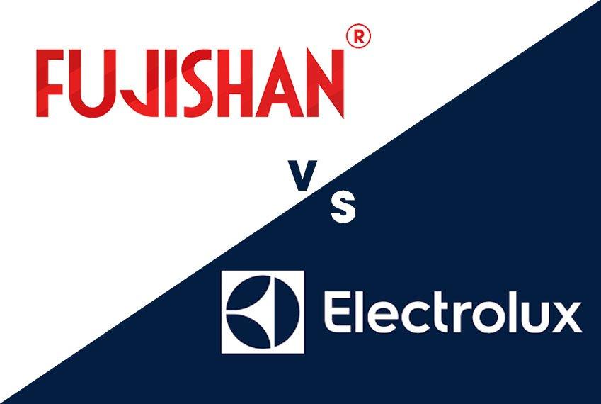 So sánh máy rửa bát  Fujishan và máy rửa bát Electrolux
