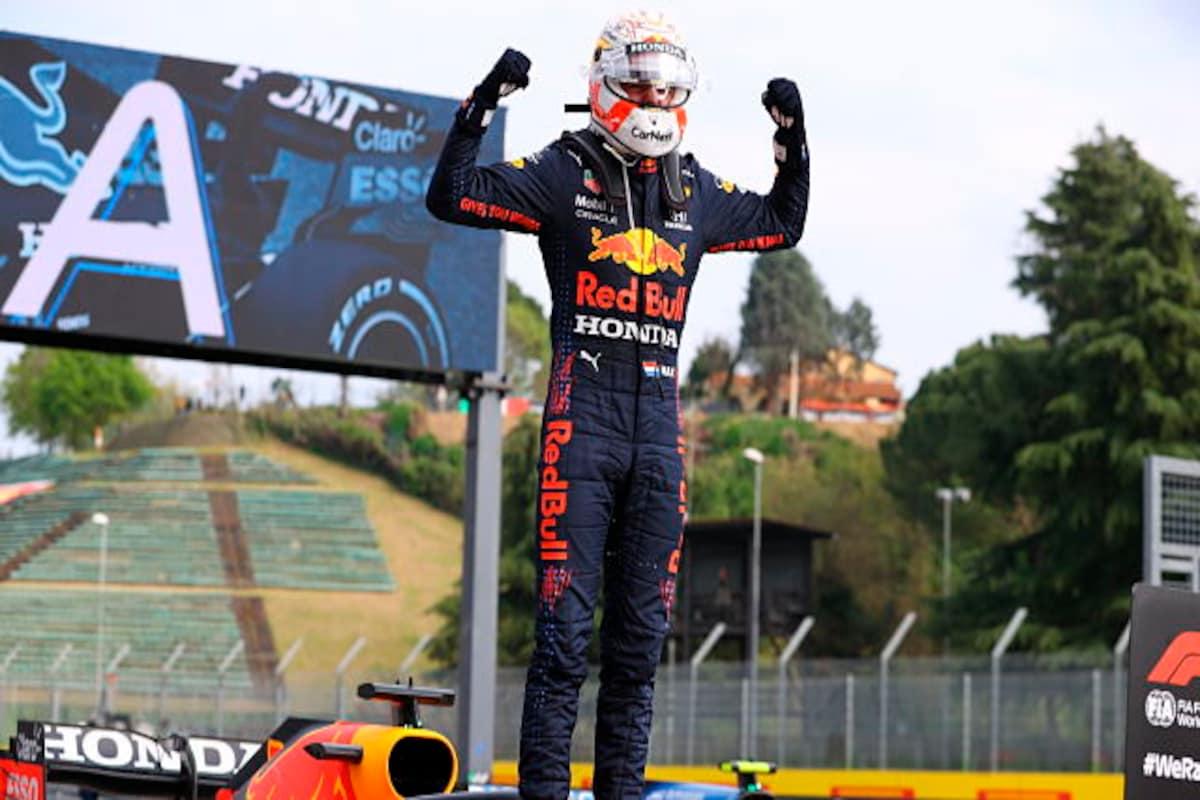 Formula 1 2021: Max Verstappen pips Lewis Hamilton to claim victory at  dramatic Emilia-Romagna GP - Sports News , Firstpost