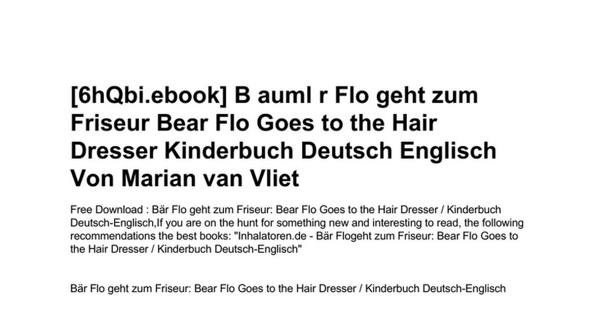 b-auml-r-flo-geht-zum-friseur-bear-flo-goes-to-the-hair-dresser
