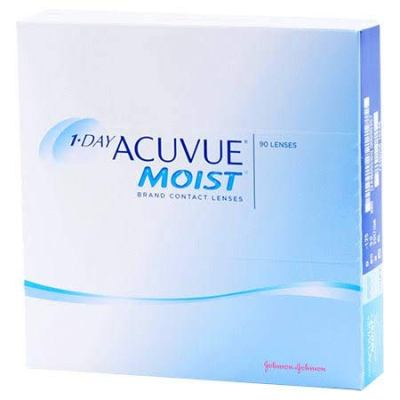 Acuvue 1 Day Moist Daily Best Contact Lens For Eyes In India