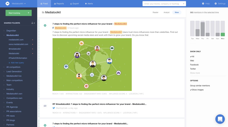 mediatoolkit interface