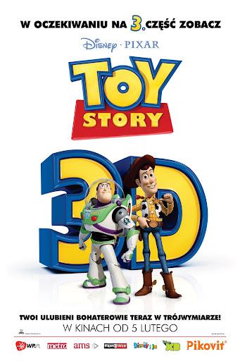 Polski plakat filmu 'Toy Story 3D'