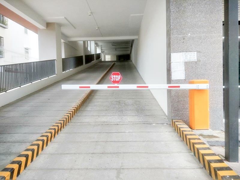 Barrier tự động được ứng dụng rộng rãi