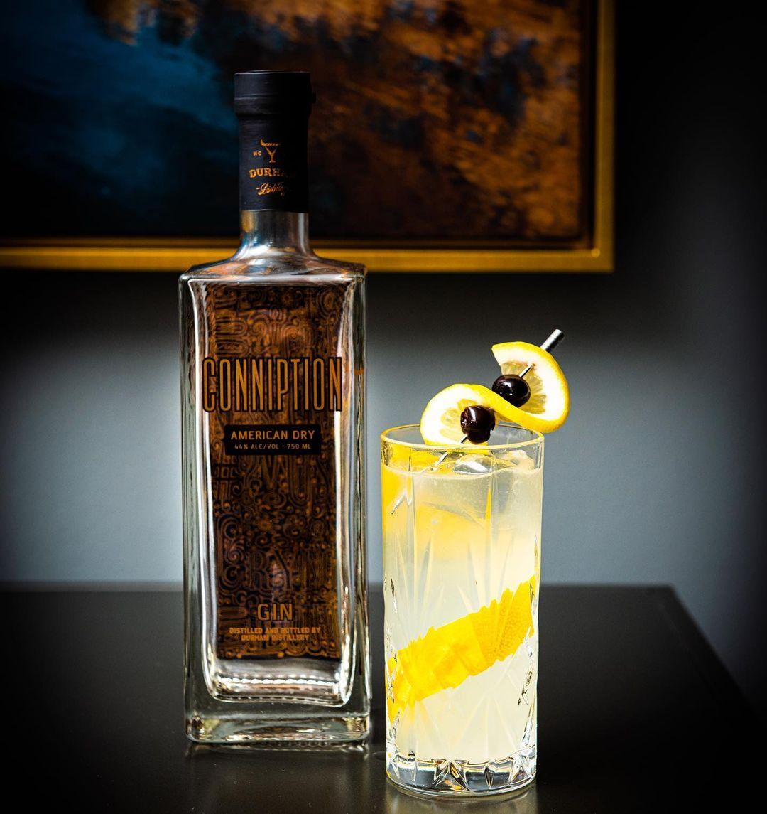 lemon gin drink