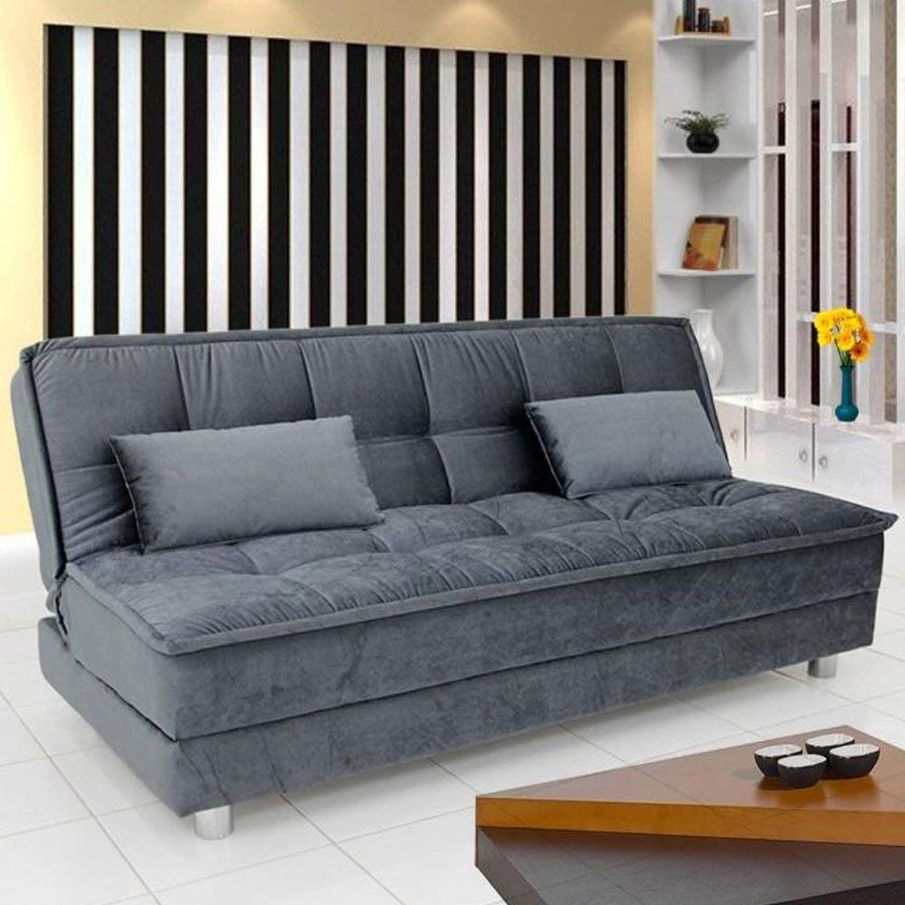 Furny Gaiety Supersoft 3 Seater Sofa Cum Bed