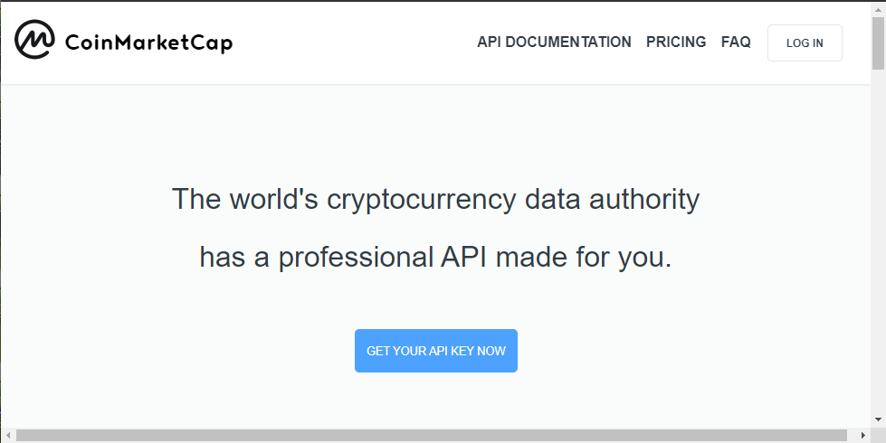 api to get cryptocurrency prices