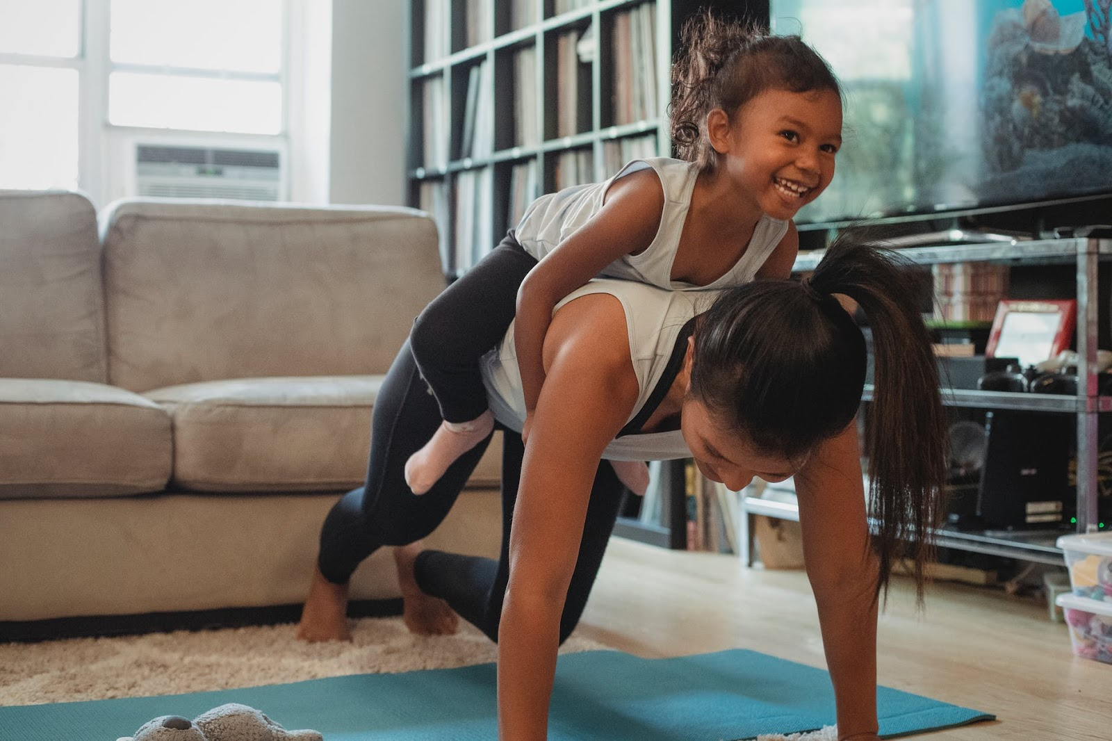 Incorporating simple activities into your family's lifestyle, this can help your child to relax and cope better with daily stressors, wellbeing and child's mental health.