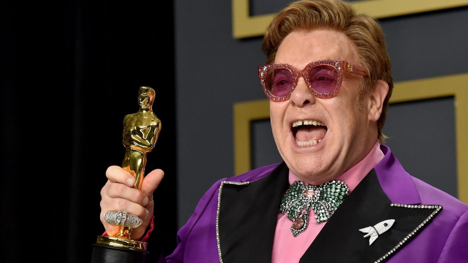 Elton John celebra 30 años de sobriedad 1