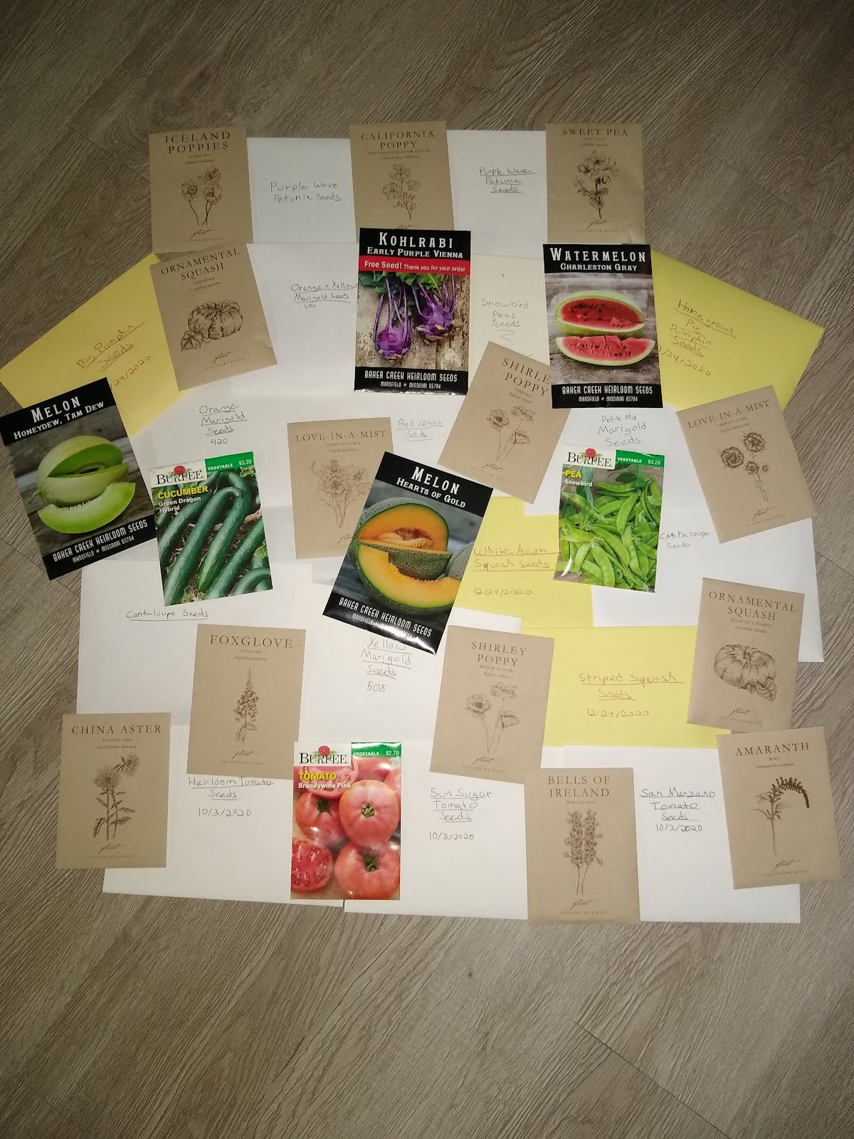 seed packet planning