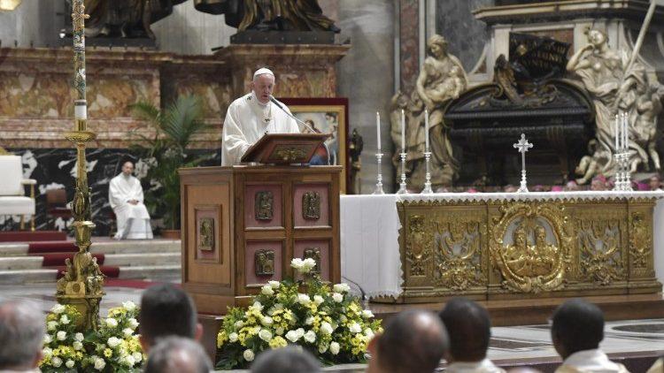 Đức Thánh Cha với Caritas: Tin mừng là Chương trình đời sống của chúng ta (Toàn văn)