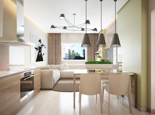 Kết quả hình ảnh cho Thiết kế nội thất chung cư nhỏ