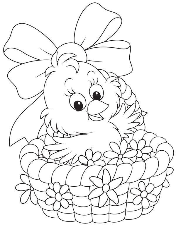 Wielkanocne kolorowanki dla dzieci [kolorowanki do druku ...