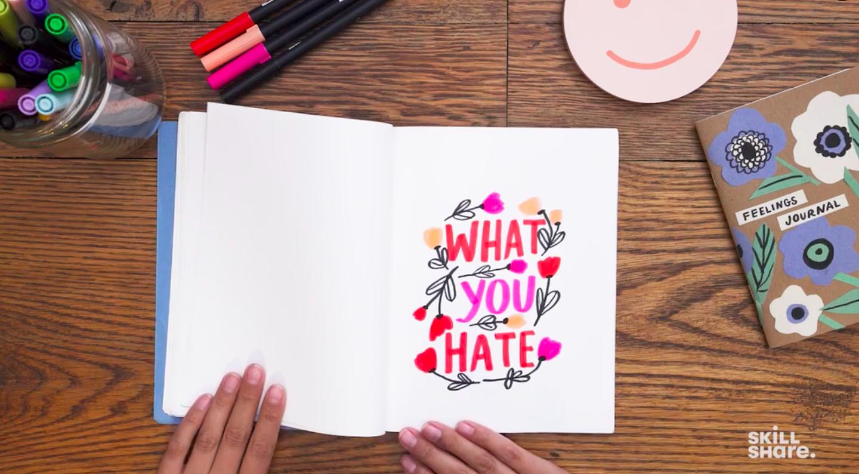 drawn words