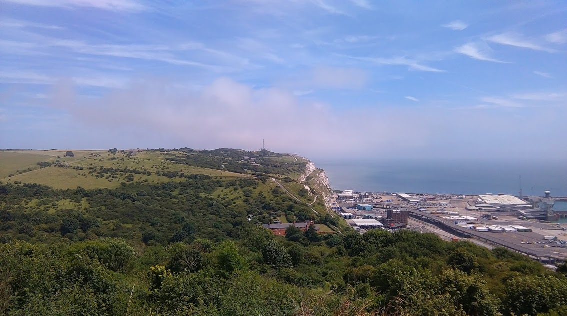 view-from-dover-castle