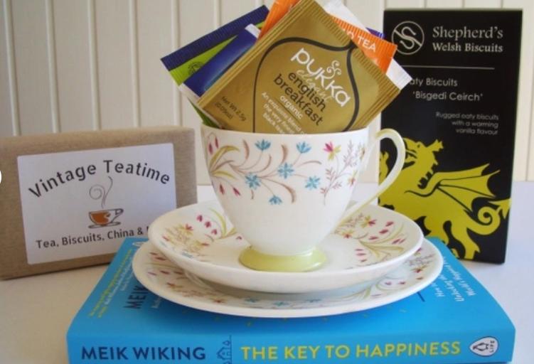vintage tea time package