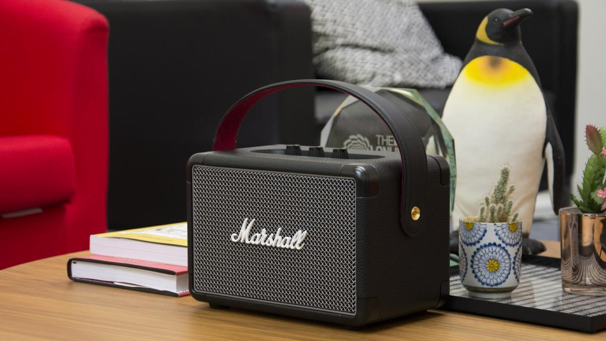 Review đánh giá loa Marshall Kilburn 2 - thiết bị âm thanh của thời đại 7