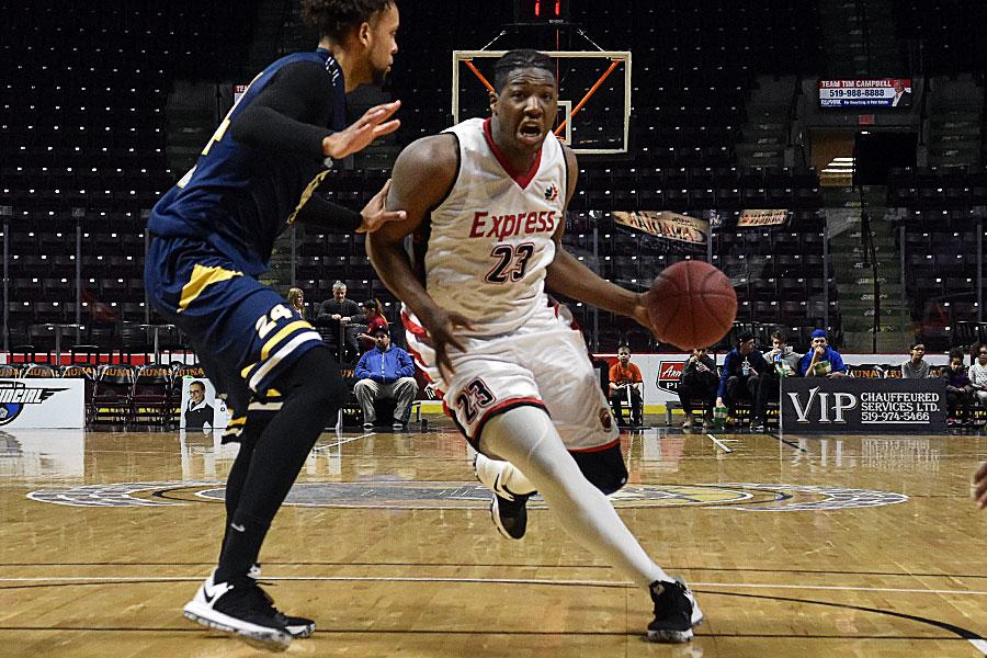 Windsor Express guard Shaquille Keith - July 4, 2018 Photo on ...