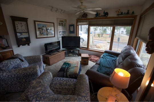 Nancy and Tony Caira have been living in their Sandy-damaged