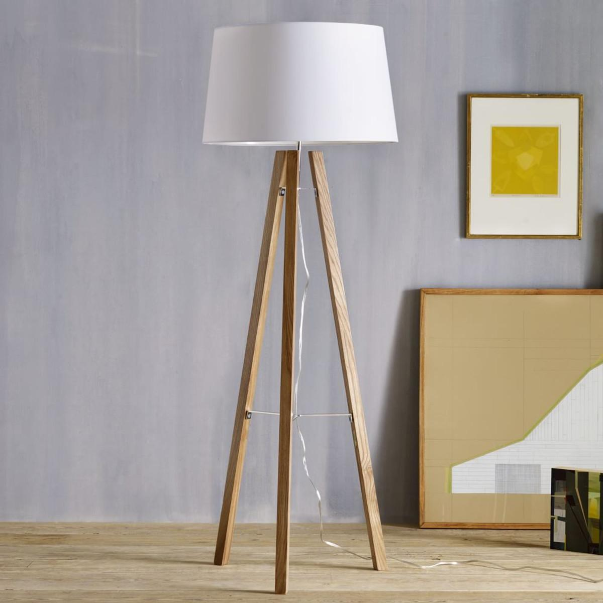 Image result for tripod floor lamp images