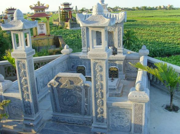 Tìm hiểu những Mẫu xây mộ nên chọn chất liệu như thế nào cho tốt