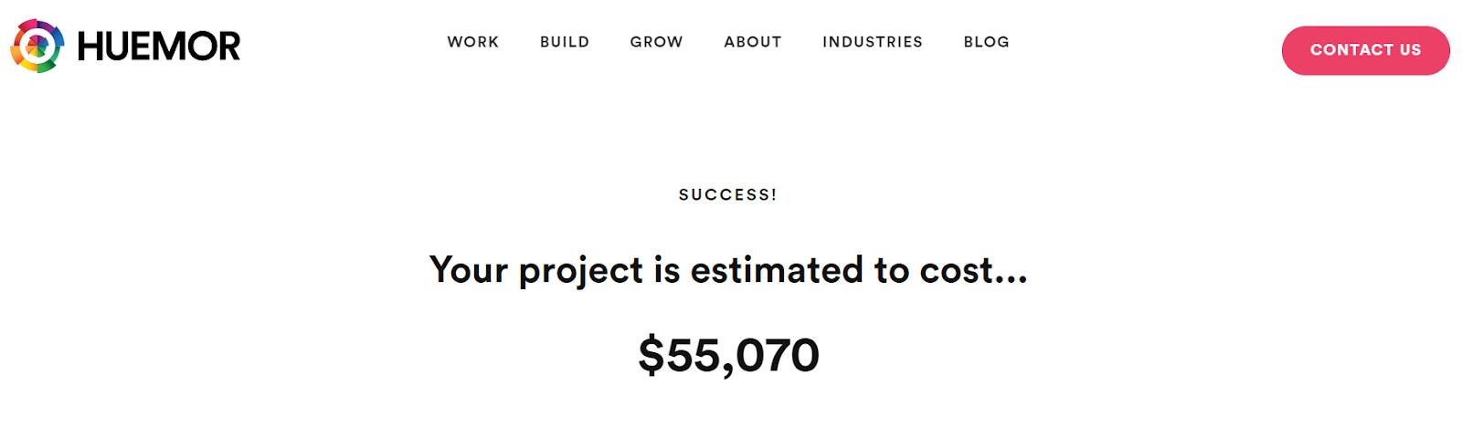 huemor project cost